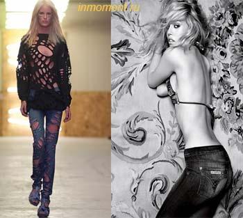 джинсовая мода весна-лето 2010