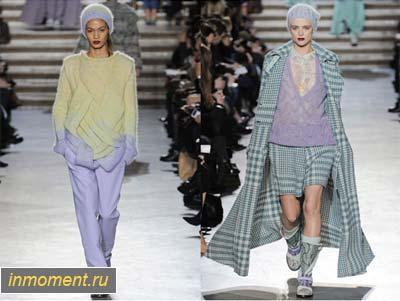 Вязанные вещи кардиганы мода 2012