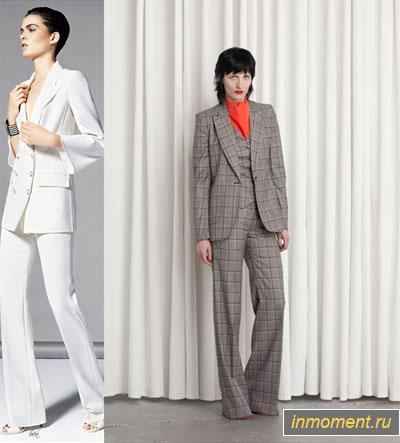 Модный брючный костюм женский 2015